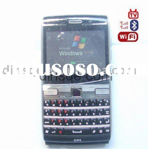 GPS+wifi+tv+windows system+dual sim card phone W73