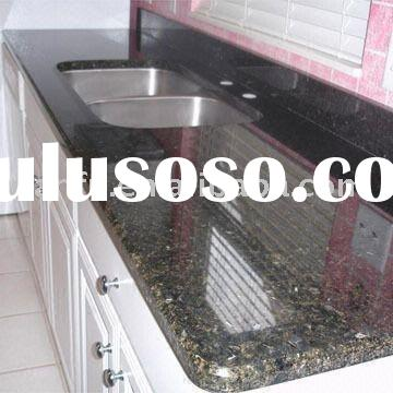 Granite kitchen blanks with Stainless Steel sink