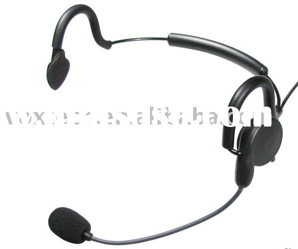 Light Weight Headset for Two Way Radio/Two Way Radio Accessories(HHL1000)
