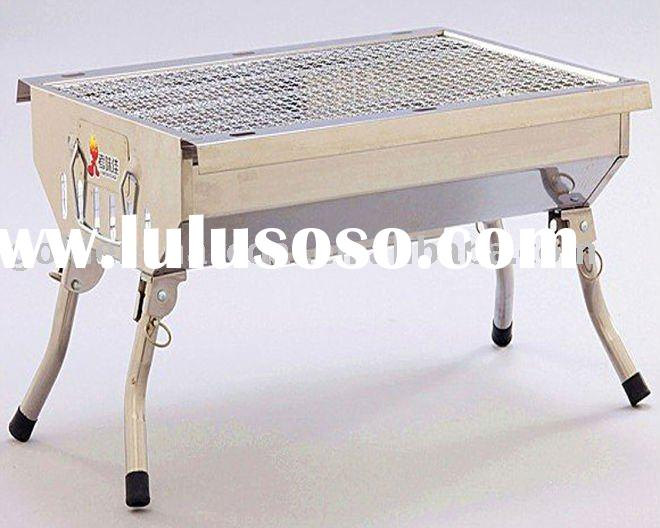 Portable Stainless steel bbq grills(A)