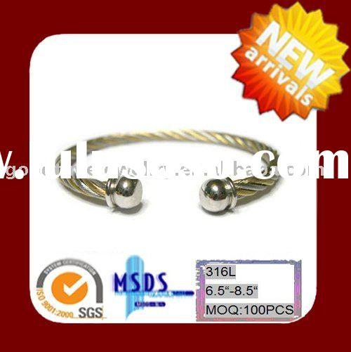 Stainless Steel  Wire Baby bangle jewelry