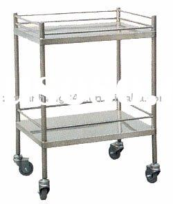 Stainless steel appliances trolley