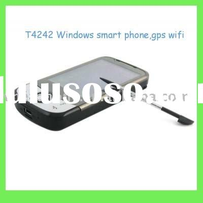 T4242 windows system wifi smart mobile phone with gps