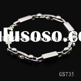 Titanium Stainless Steel  Chain  Bracelet Wholesale Fashion Jewelry New Style  TS735