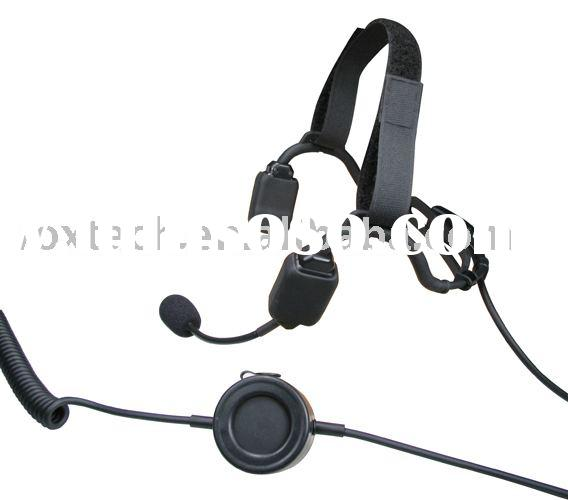 Two Way Radio Accessories/Bone Conduction Headset for Two Way Radio(VHT2000)