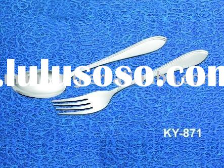 good cheap quality stainless steel fork spoon