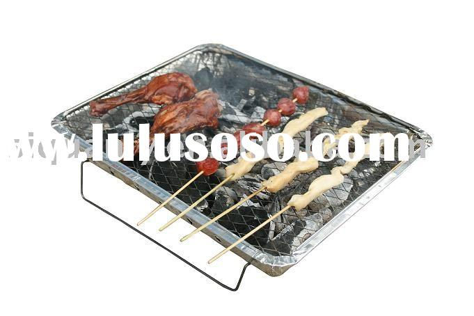portable barbecue grill/One Time Use BBQ Grill/Single Use Barbecue Grill