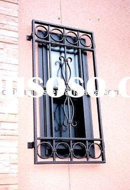 window grill, window railing, safeguard window,iron window W3
