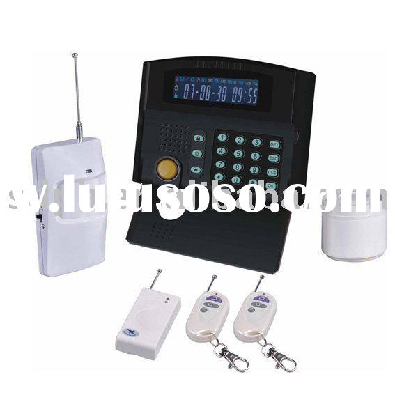 wireless house alarm with two way communication funcion