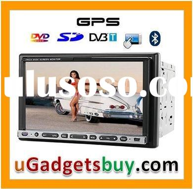7 Inch Touchscreen Car DVD Player with GPS + DVB-T - Free 2GB