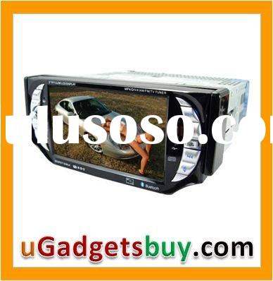Car Stereo AV System (Bluetooth + 1 DIN detachable Touch Screen)