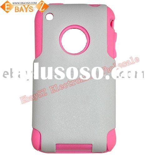 Double Protect Mobile Case for iPhone 3G,Matt Material