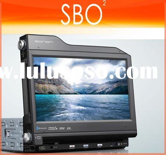 "EONON   D1305 8"" Multi-angle Rotary HD Touch Screen 1 Din Car DVD Player"