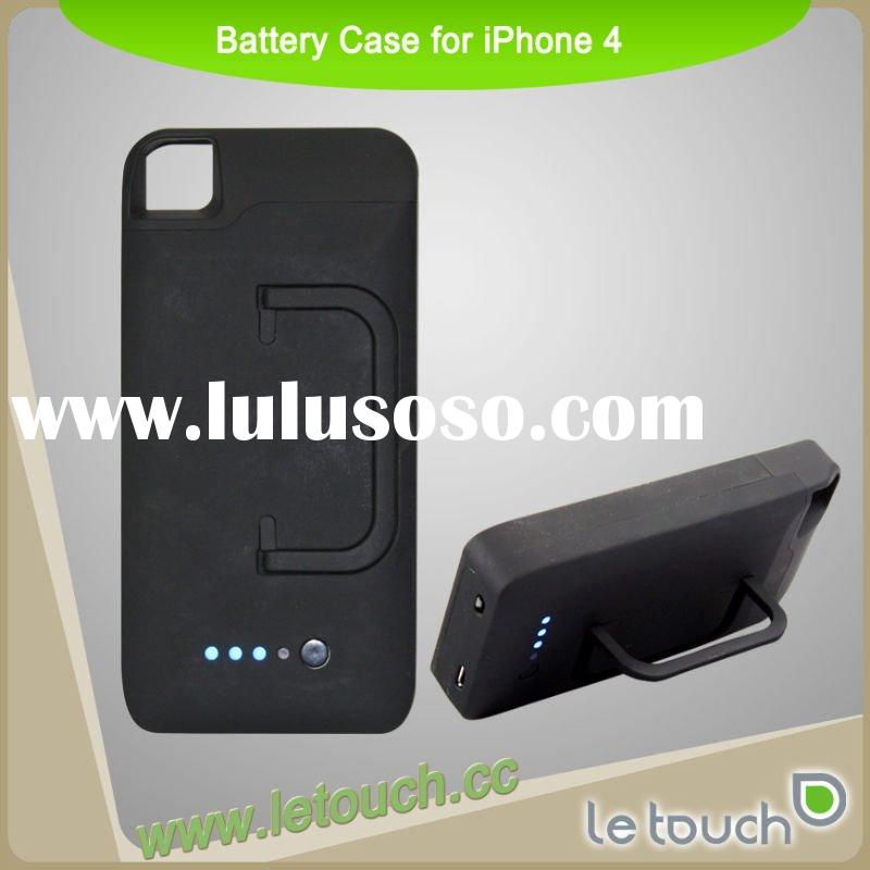 For Apple iPhone 4 Body Glove Snap-On Battery Case with 2300mAh