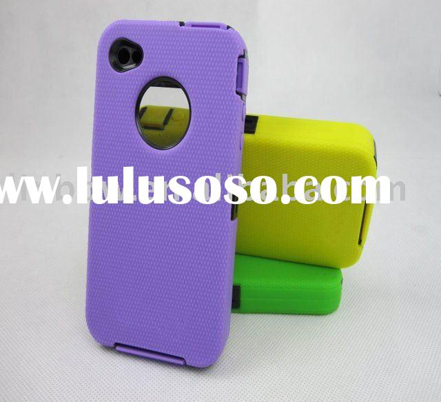 Free shipping top selling silicon cases for iPhone 4G,case for iphone