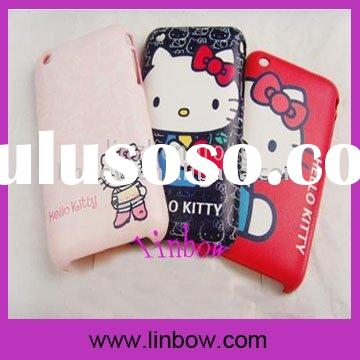 Hello Kitty Hard Cover Case for 3G 3GS Cell Phone Accessories