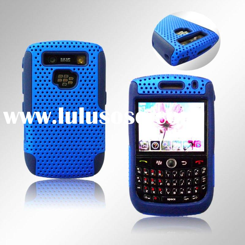 Mesh Combo Cell Phone Case for Blackberry Curve 8900