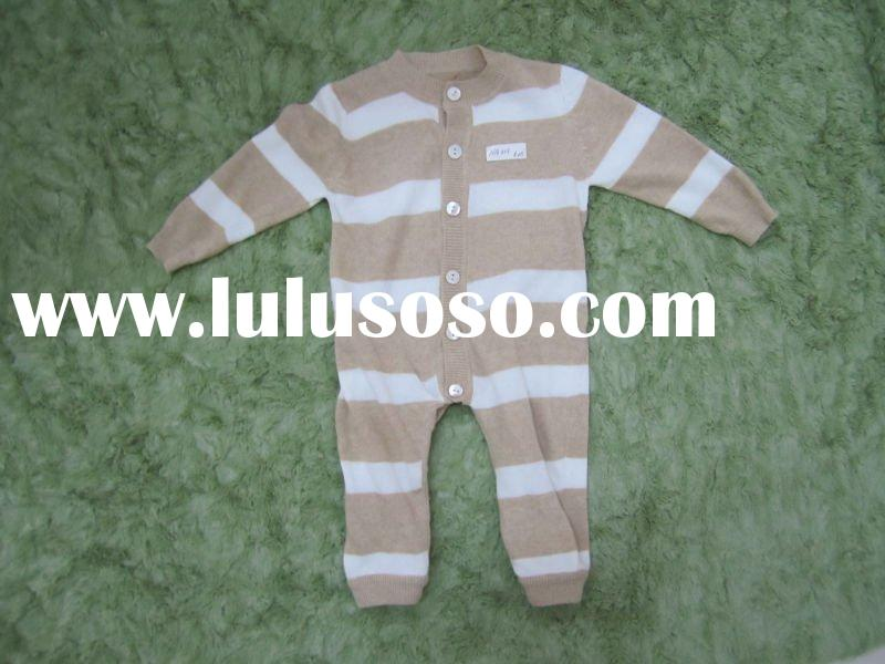 Natural Organic 100% Organic Cotton Baby Rompers