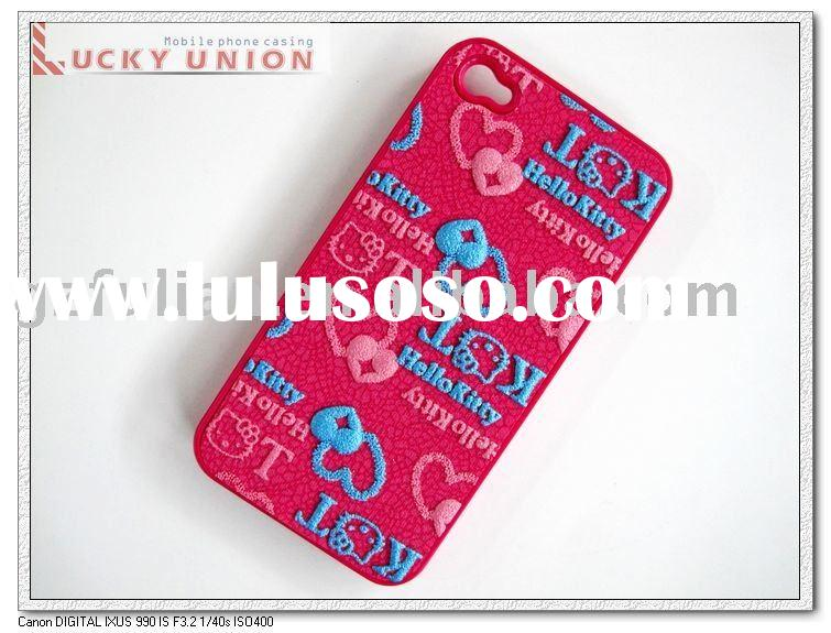 hello kitty cell phone case for iphnoe4