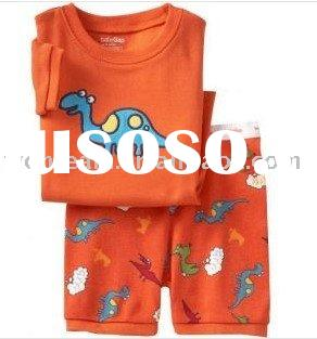 organic cotton baby boy's t-shirt sets / children's clothes / pajamas