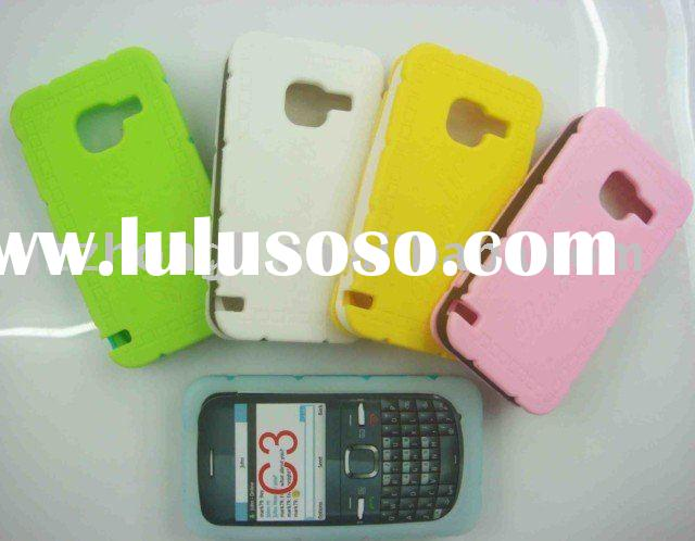 silicone mobile phone case   for Nokia C3