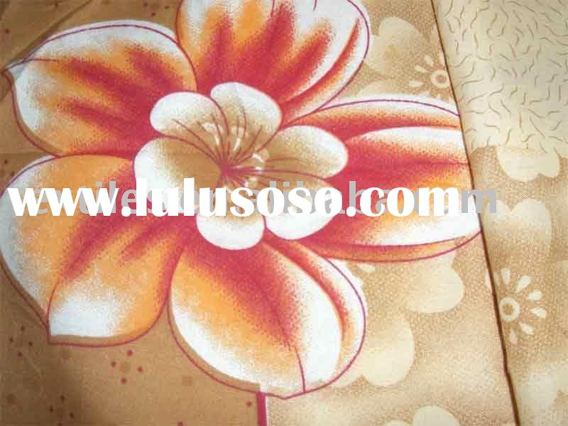 100% polyester bed sheet fabric micro fiber textiles