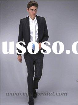 2010 new style black business men suits