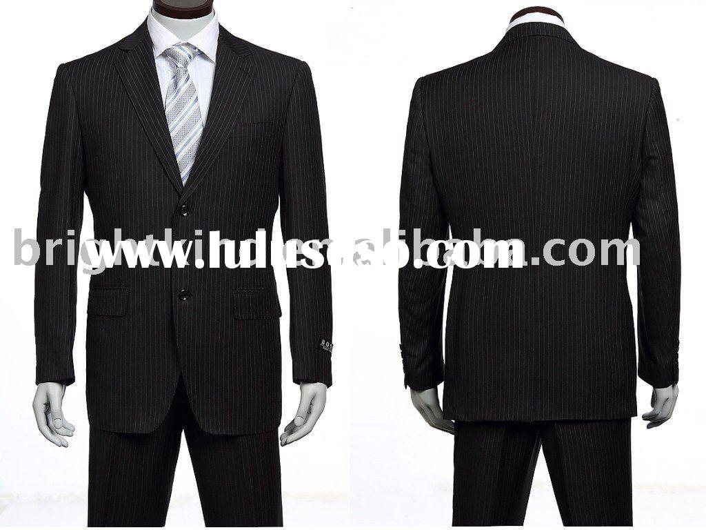 2011 new new design Black Men business suits, Men dress suits