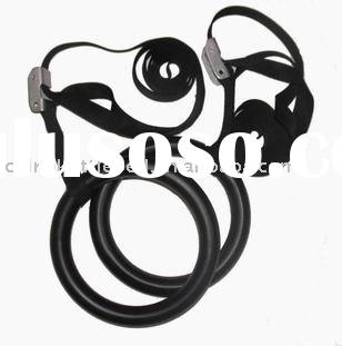 ABS Gymnastic rings with straps
