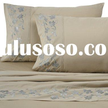 Bed Linen, Sheet Set, 100% cotton, Thread Count from 200T to 1400T
