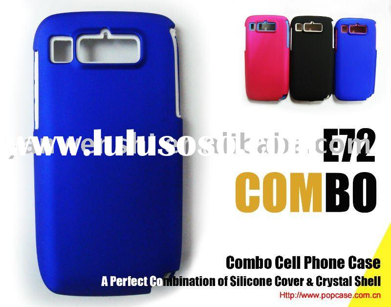 Blue Combo Mobile Phone Case for Nokia E72(Over 7 years of mobile phone case producing)