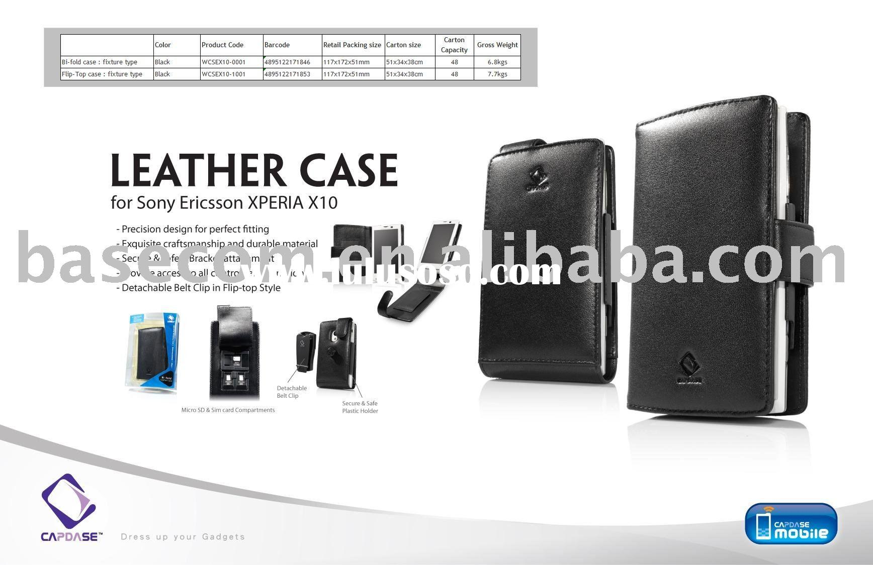 CAPDASE leather case for Sony Ericsson XPERIA X10