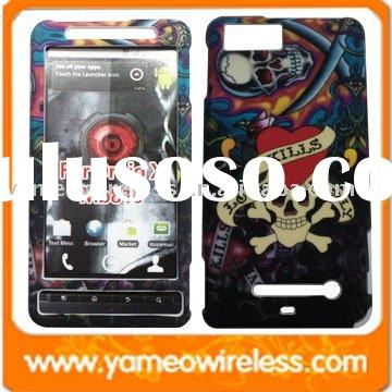 Cellular Phone Case Protector Cover For Motorola Droid X (Mb810) With Image Ed-hardy Design