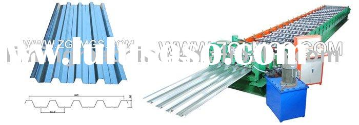 Colored Metal Sheet Cold Roll Forming Machine