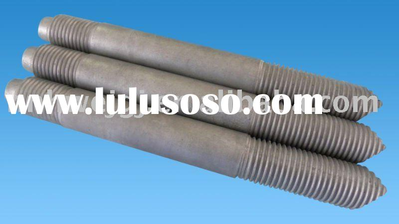 DIN 938 Stud bolts with hot dip galvanized finishing G.8.8