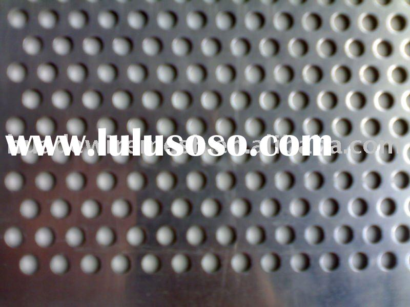Punched Aluminum Sheet Metal Maximum Sheet Metal Punching