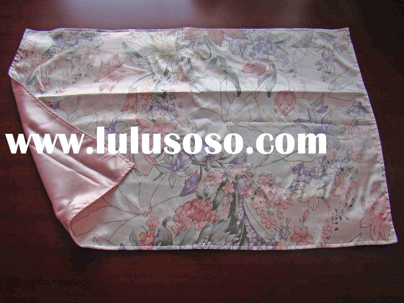 Imitated Silk Pillow cases