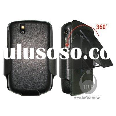 Leather case,mobile phone leather case for BlackBerry 9630