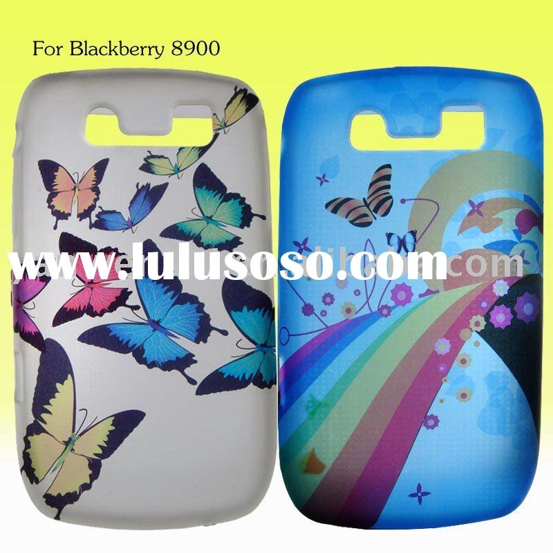Mobile phone case with UV print for blackberry 8900