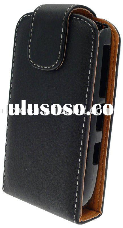 Phone leather case for Blackberry 8900