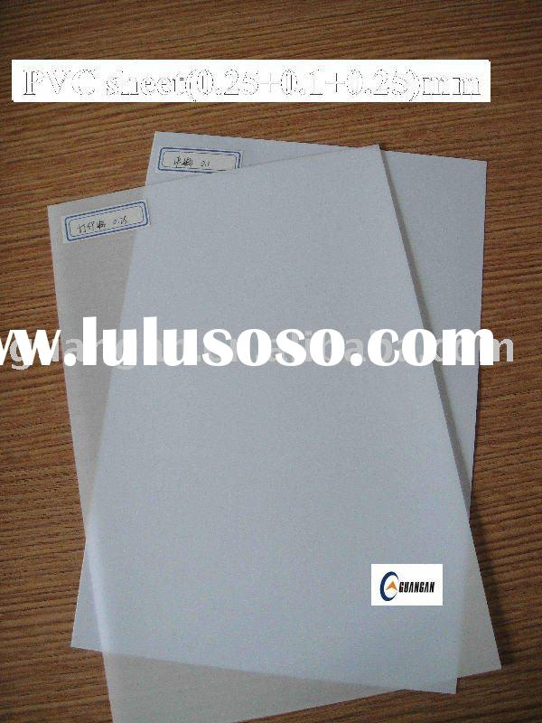 card making flexible clear pvc sheet