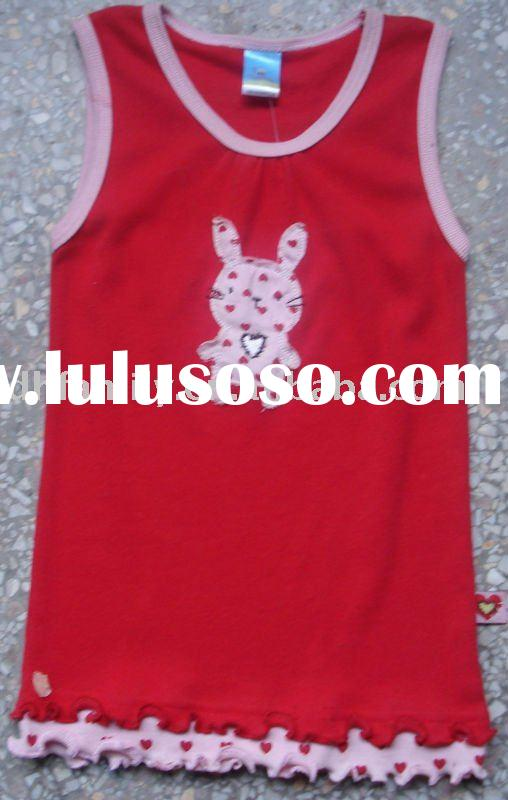 kids vest,kids t-shirt,gril sleeveless vest,girl wear,cotton t-shirt,vest for toddler