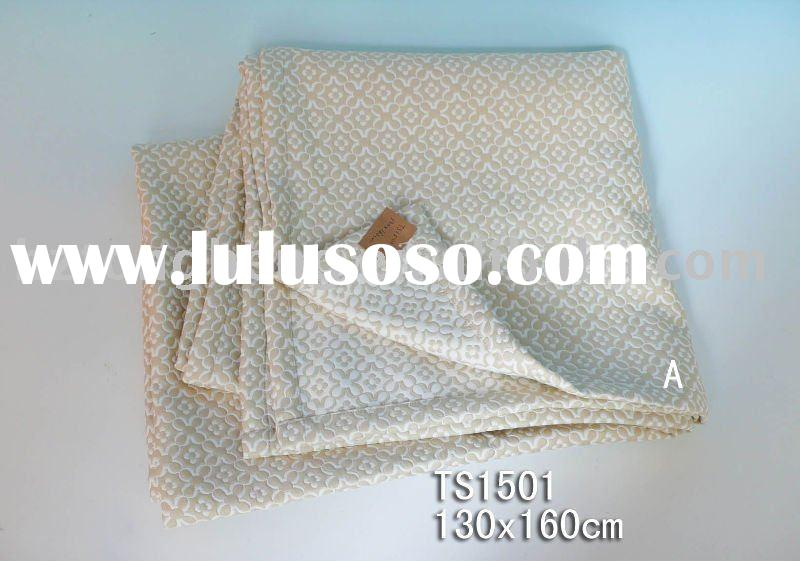 polyester and cotton blankets/bed sheets