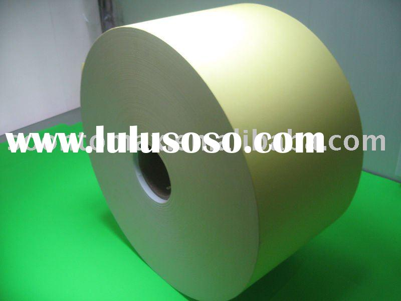 self adhesive 50 micron  Clear PVC sheets for printing Label