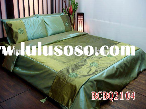 silk bed linens king size and queen size