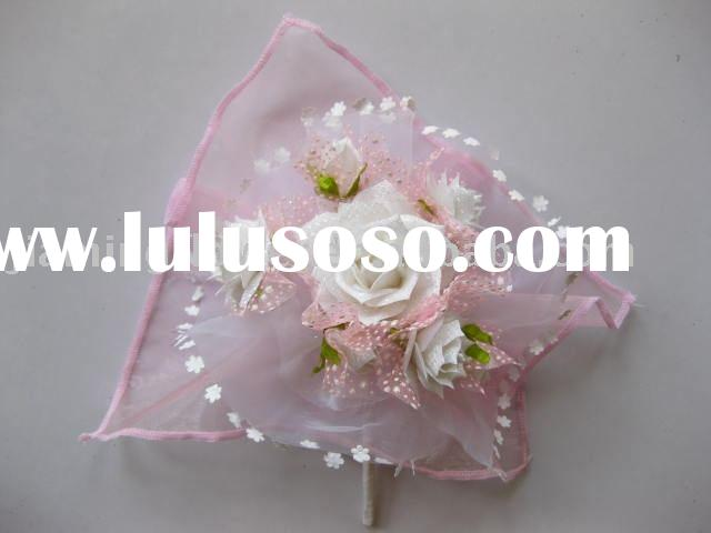 wedding use artificial  flower rose cluster