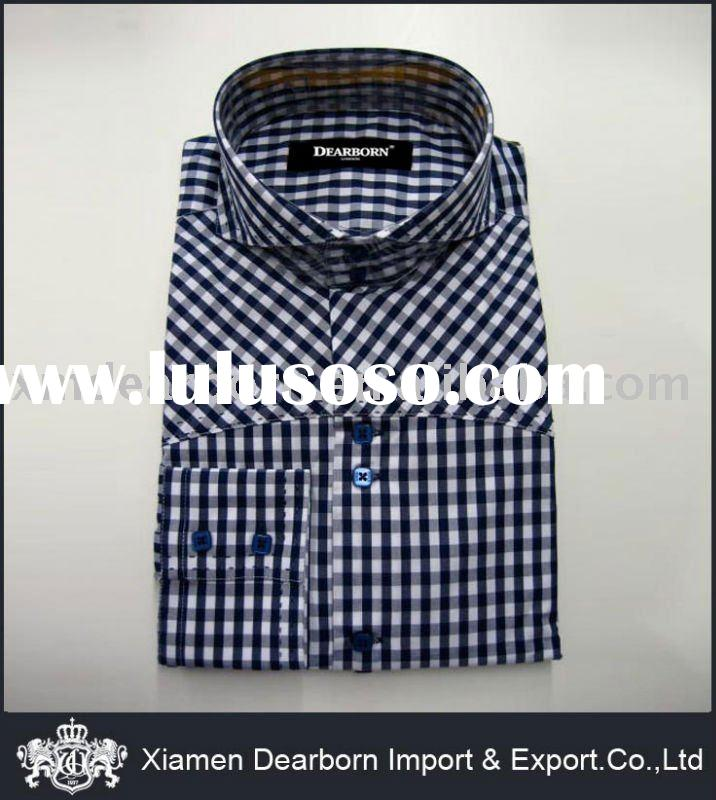 100% Cotton Dress Shirts for Men