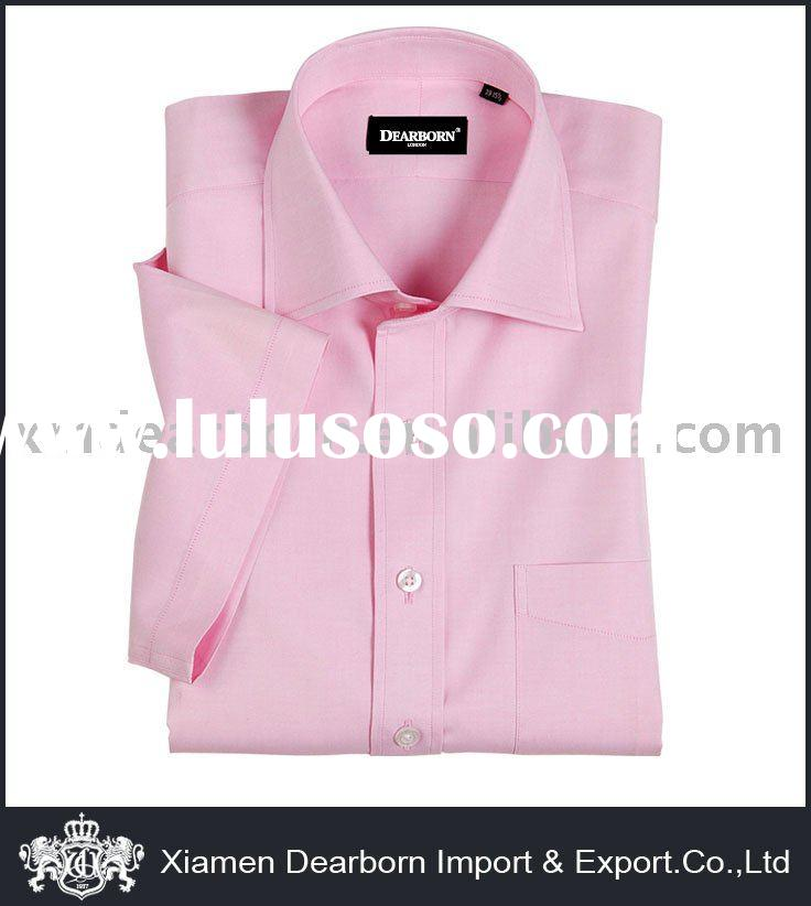 100% Cotton Short Sleeve Dress Shirt
