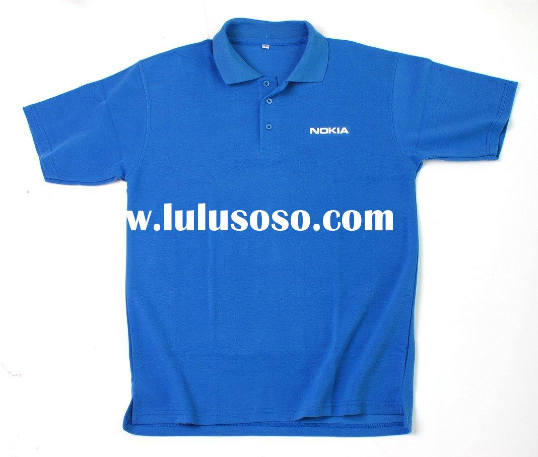 100% combed cotton polo shirt with company logo