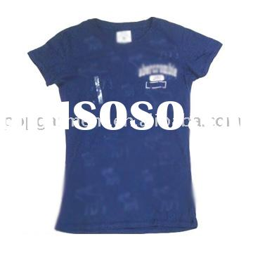 2008 Latest Style T-shirts/Women's T-shirts/100% Cotton T-shirts/Designer T-shirts